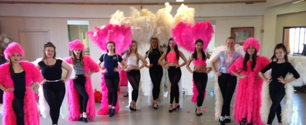 Feather Showgirl Masterclass in May